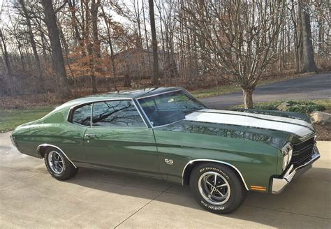 Most Iconic Muscle 1970 Chevelle Ls6 454 Ci M22 4speed
