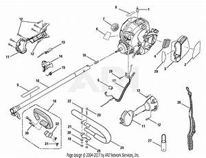 Homelite Ry30120 30cc String Trimmer Parts Diagram For Upper Boom    Handle Assembly