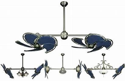 Ceiling Fan Double Dual Nautical Fans Blade
