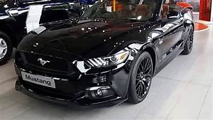 All New Ford Mustang Convertible Black Panther Walkaround - YouTube