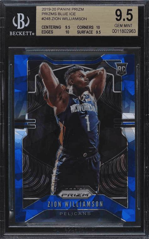 Zion williamson first rookie basketball card! Zion Williamson Rookie Card - Top 15 Cards, Value, and Checklist | Gold Card Auctions