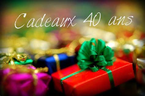 cadeau pour les 40 ans de mariage de mes parents cadeau 40 ans