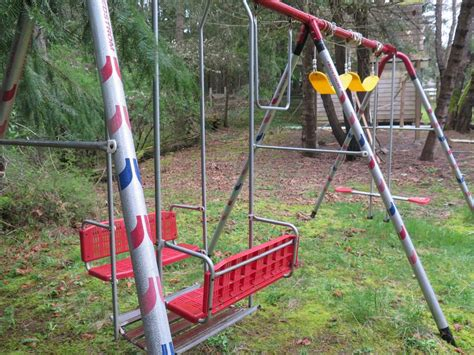 Swing Sets For Sale by Multi Age Multi Seater Metal Swing Set For Sale Outside