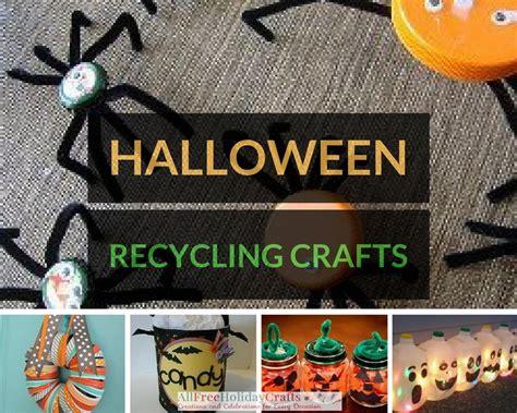 green  halloween  halloween recycling crafts