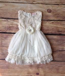 country wedding flower dresses ivory toddler dress vintage toddler dress ivory flower dress rustic wedding
