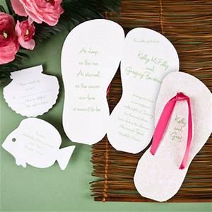 rainingblossoms beach theme wedding invitations inspiration With 3d beach wedding invitations