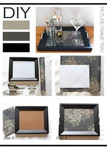 home interiors picture frames diy picture frame tray mountain home decor