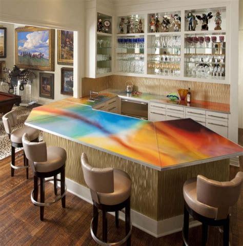 un bar plan de travail des id 233 es pour l utilisation efficace de l espace dans la cuisine