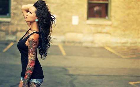 Tattoo Girl Wallpaper Hd