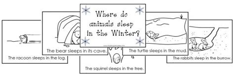 itsy bitsy learners animals in winter printables bme