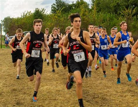 clinton high school coed varsity cross country fall game