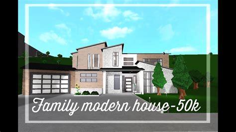 roblox   bloxburg modern family ranch