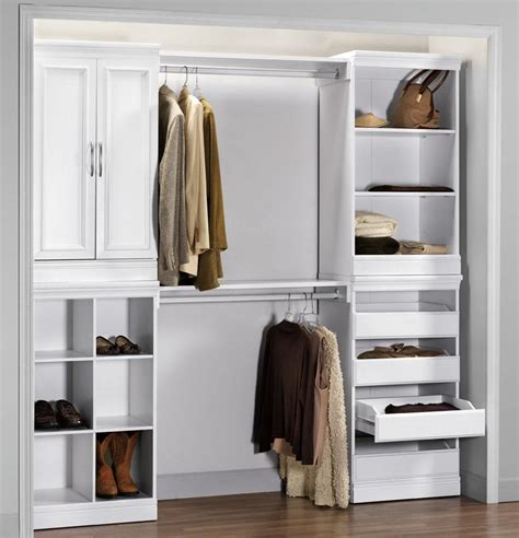 Retrospect Modular Closet Organization Systems Ideas
