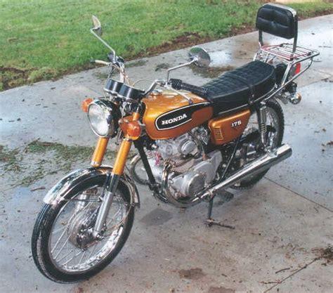 Motor Cb Clasik by Classic Cycling 1973 Honda Cb 175 Motor Classic