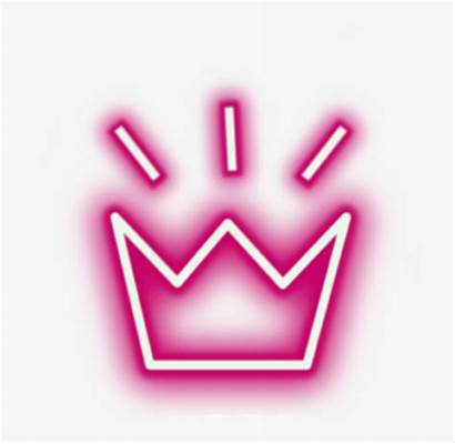 Neon Crown Aesthetic Transparent Crowns Lights Kindpng