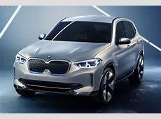 BMW iX3 Concept Bilder und Infos zum ElektroX3 für 2020