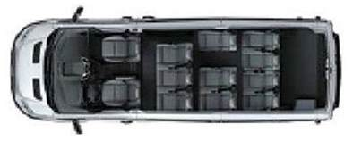 2017 shuttlestar 12 passenger rear luggage commtrans midsouth