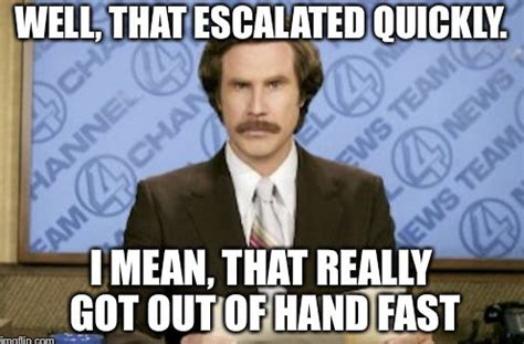 That Escalated Quickly Meme - england v scotland live blog minute by minute updates from wembley football sport express