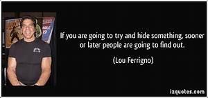 Hiding Something Quotes. QuotesGram