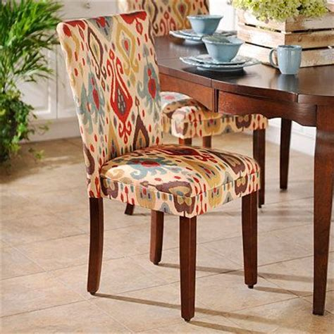 ikat parsons chair 59 98 kirklands for the home