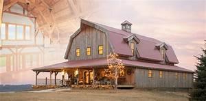 Wood & Horse Barn Homes Garages Loft Living Sand Creek