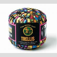 Trellis Yarn From Lion Brand Yarnuse With Vhs Tape When