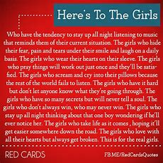 Heres To The Girls Quotes Quotesgram