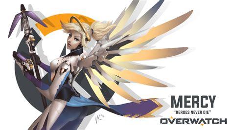 Overwatch Wallpaper Mercy  Bing Images