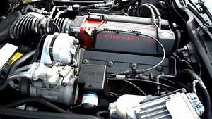 1996 Corvette Lt4 Engine Compartment