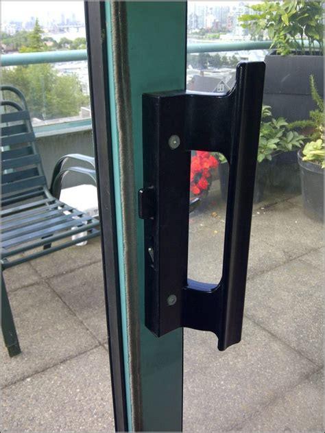 sliding patio door handles patios home decorating
