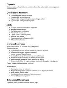 description of job duties for cashier cashiers job description for resume best resume exle