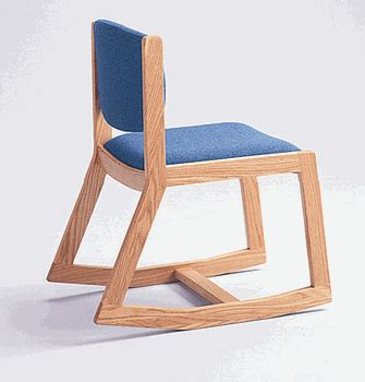 adden three position side armless rocking chair