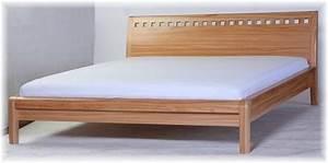 Modernes Bett 180x200 : bett doppelbett bettgestell holzbett 180x200 modernes design ~ Watch28wear.com Haus und Dekorationen