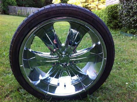 Cars With Chrome Rims : Velocity Wheels (used Chrome 22 Inch Rims)
