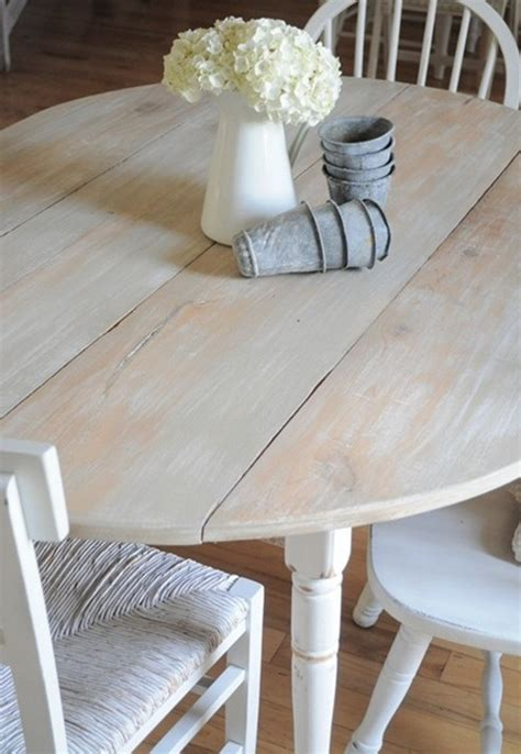 adorable white washed furniture pieces  shabby chic