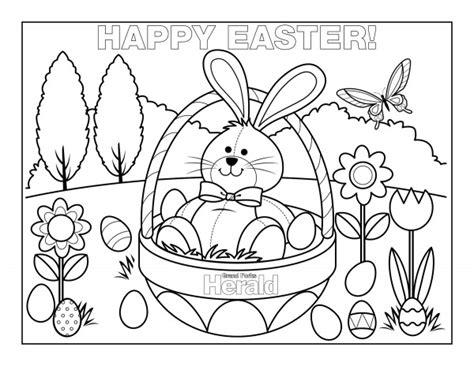dibujos  imprimir  colorear de happy easter