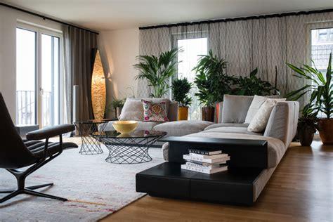 penthouse stuttgart modern wohnzimmer stuttgart