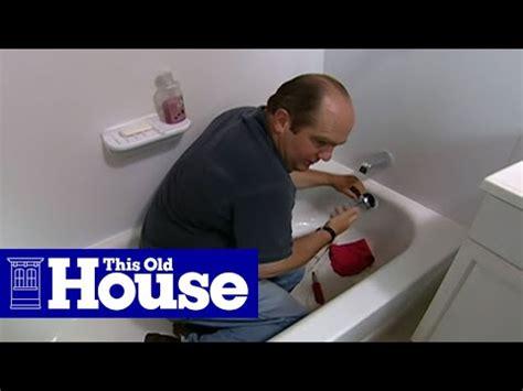 clear  clogged bathtub drain   house