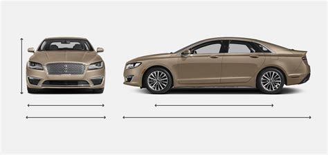 2017 Lincoln Mkz Dimensions by 2017 Lincoln Mkz Sedan Hybrid Vehie