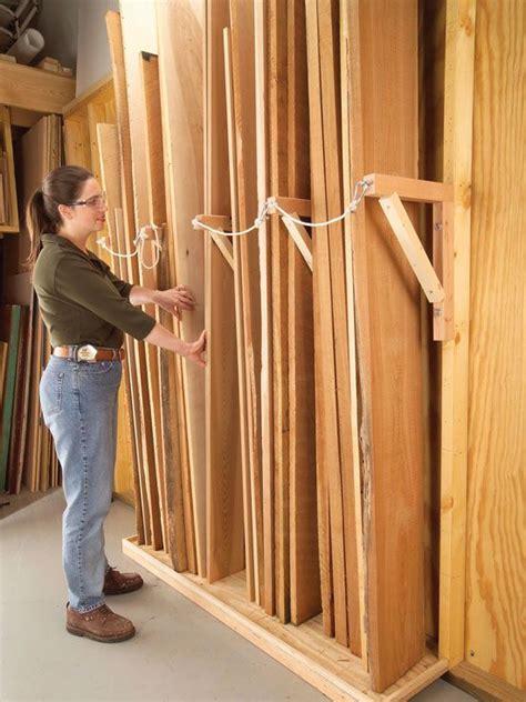 working    home lumber storage lumber storage rack woodworking shop