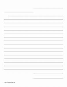 lined friendly letter writing paper