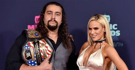 wwe superstars lana  rusev  married   beach