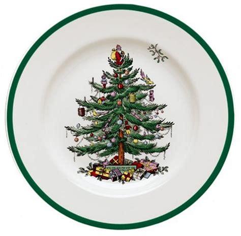 spode christmas tree 4 piece dinnerware place setting