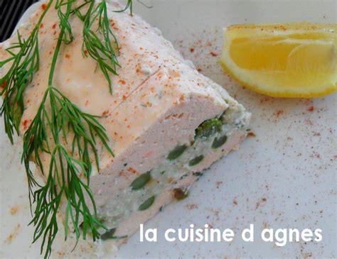 la cuisine d agnes terrine aux deux poissons au parfum anisé la cuisine d