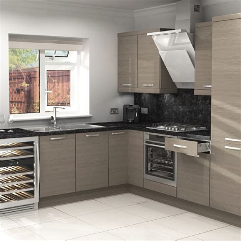 fitted kitchen accessories 7 unit lshape kitchen starter pack inc accessories amelia 3754