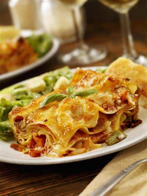 recette lasagnes aux courgettes carottes  basilic