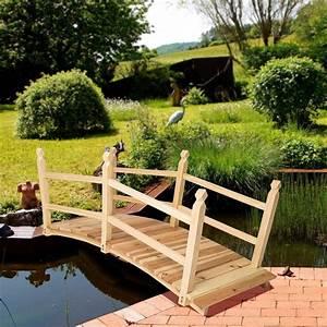 Petit Pont En Bois : pont de jardin cielterre commerce ~ Melissatoandfro.com Idées de Décoration