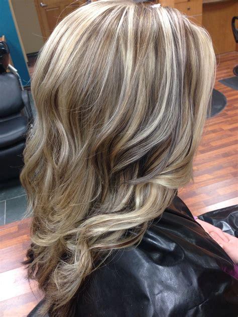dimensional blonde highlights hair portfolio hair