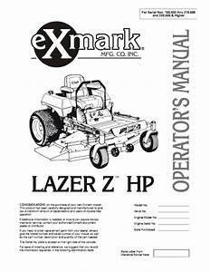 Exmark Turf Tracer Parts Diagram