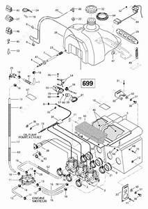 Ski Doo 1997 Mach - 1  Fuel System  699